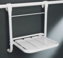 WC Care Handrail handing folding seat