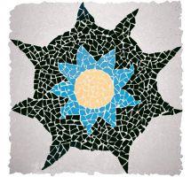 Klinker mozaik ploščice Exagres Anemona