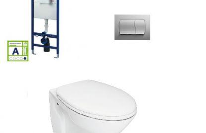 Podometni kotliček in WC školjka set Cetus