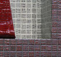 Stekleni mozaik usnje Grana