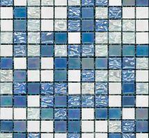 Steklene mozaik ploščice Trendy Celeste