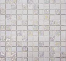 Stekleni mozaik Trendy Blanco
