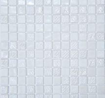 Steklene mozaik ploščice Pandora Bianco
