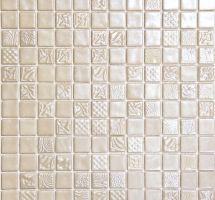 Stekleni mozaik za kopalnice Pandora Vainiglia