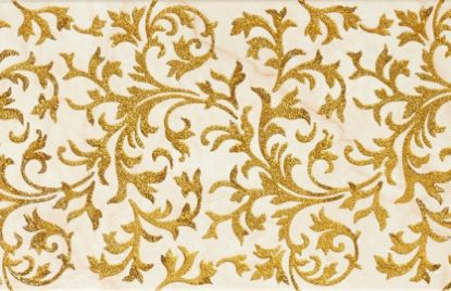 Luksuzne dekorativne ploščice Lineage Ivory-Gold Decor