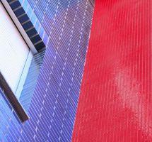 Mozaik monokolor rdeči