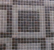 Stekleni mozaik Metalico Silver Pandora