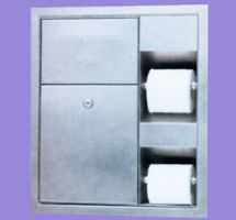 Inox nosilec za toaletni papir 12035