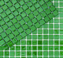 Mozaik monokolor zeleni