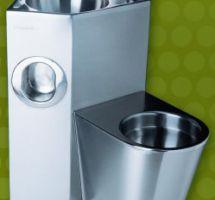 Sanitárne predmety z nehrdzavejúcej ocele